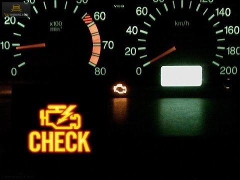 Значок «check engine»
